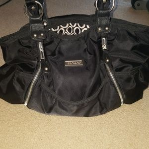 Carter's Black Diaper Bag in great condition